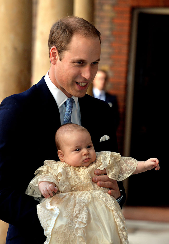 Prince George's Royal Christening: Kate Middleton, Princes William & Harry AND All The Other Royal At St James' Palace