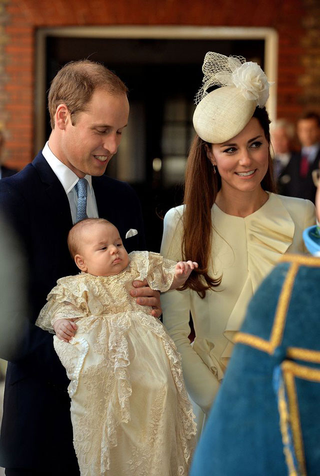 Royal Christening: Kate Middleton, Princes William & Harry AND All The Other Royal At St James' Palace