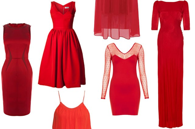 10 red dresses to seriously up your christmas party game