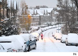 feel the cold, London, snow