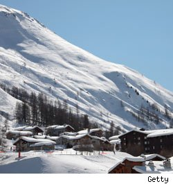 Val d'Isere, Alps, family took £1000 taxi