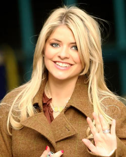 Holly Willoughby pregnant; a girl