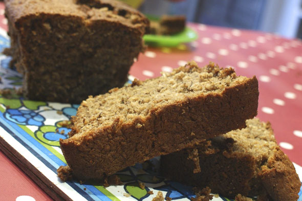 Cooking with kids: Banana and coconut loaf