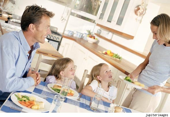 Two daughters makes a harmonious family
