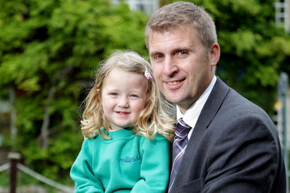 Dad BUYS school for daughter after closure threats