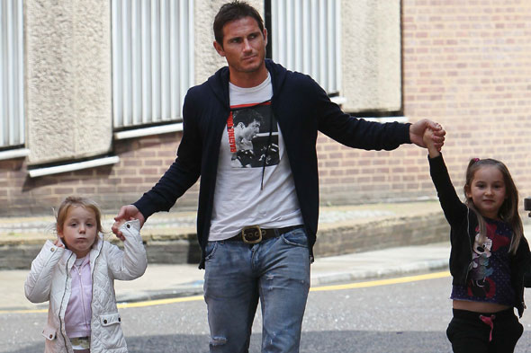 'Kids, I'm getting married': Frank Lampard tells his daughters he is engaged to Christine Bleakley