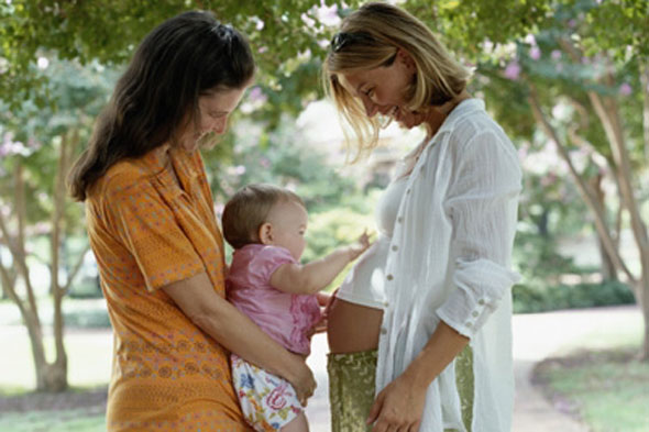 Big Mouth for Mummy: How having a baby changes your friendships