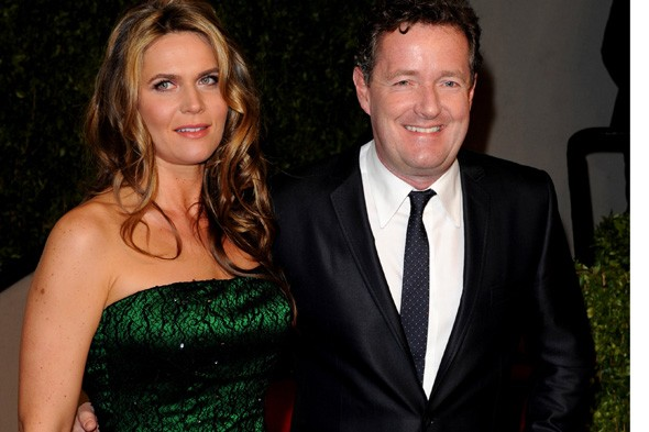 Piers Morgan to be a dad for the fourth time