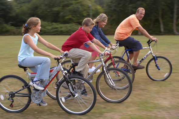 Why a family bike ride is never a good idea