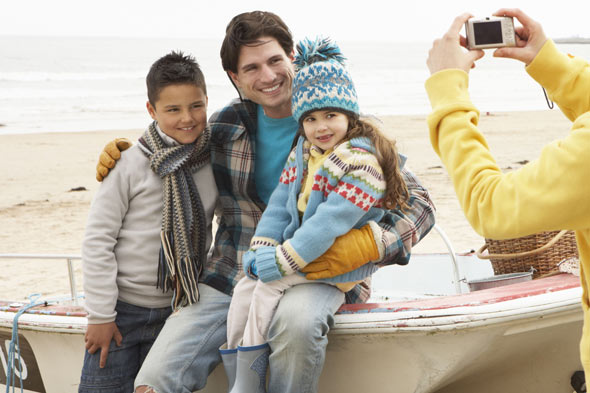 Are you the invisible mum in family photos?
