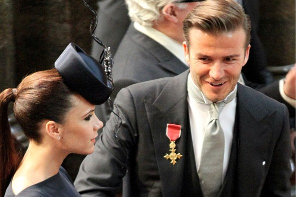 Prince William and Kate to be godparents to Beckham baby girl?