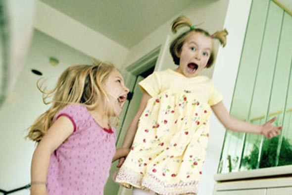 10 ways children will kill time on a rainy day in the holidays - and drive mums mad