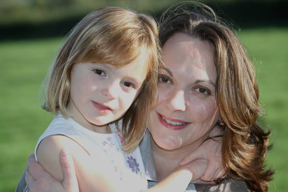 Four-year-old saves mum from breast cancer after finding lump