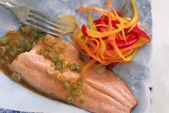 Annabel Karmel recipe for trout