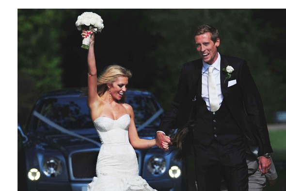 Abby Clancy and Peter Crouch