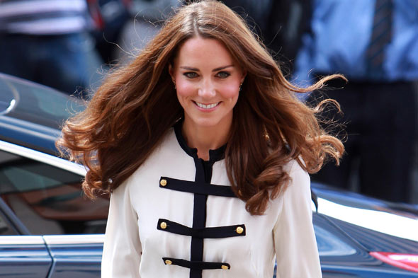 Kate Middleton - pregnant with twins?