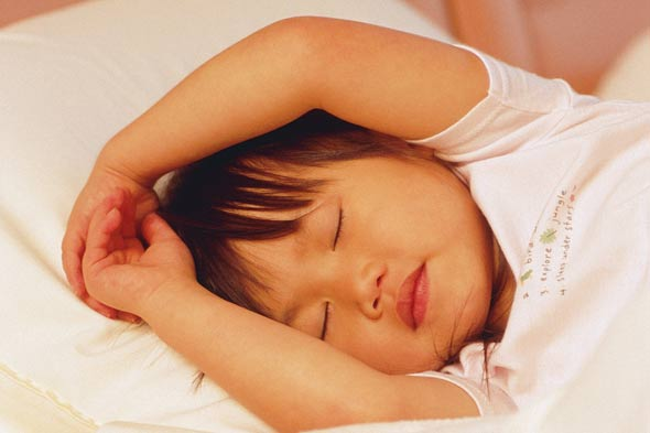 Children need at least 9 hours sleep a night. But, asks one dad, how can you make them?