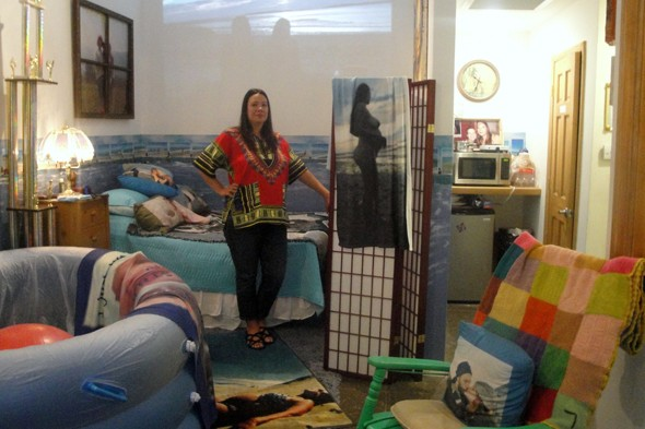 Artist Marni Kotak to give birth in gallery as part of exhibition