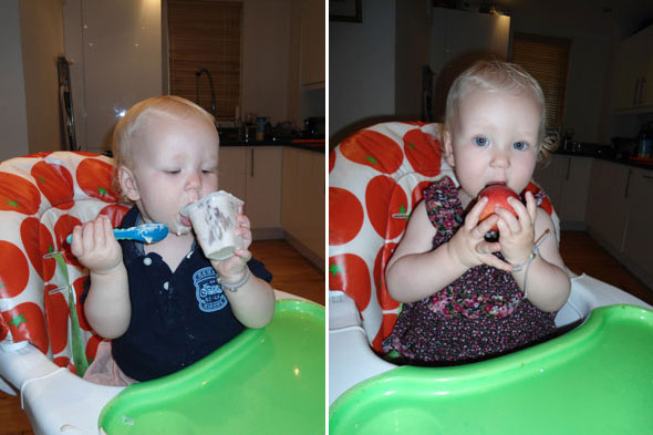 Toddler Tales: Independent eating