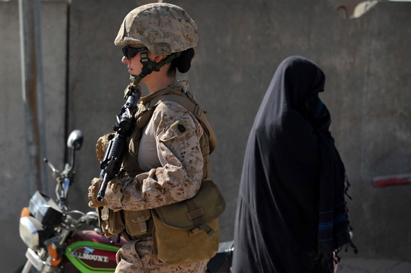 Twelve pregnant troops flown out of Afghanistan this year.
