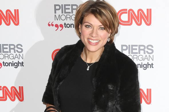 Pregnant Kate Silverton is ready to pop!