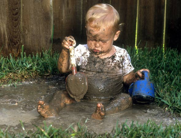 Why dirty kids are healthy kids