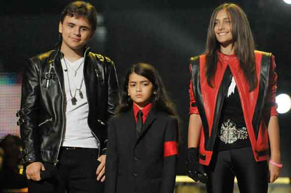 Michael Jackson's children Prince, Blanket and Paris