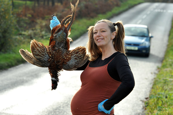 Mum-to-be Alison Brierley's pregnancy cravings for ROAD KILL