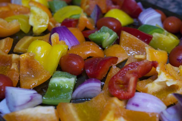 Roasted vegetables for pasta sauce: Tricks to get your children to eat veg