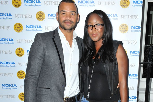 Angellica Bell and husband Michael Underwood announce birth of son