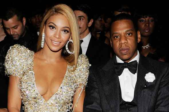 Beyonce Knowles and husband Jay-Z