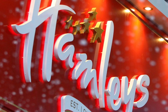 Hamleys remove 'sexist' girl and boy toy signs