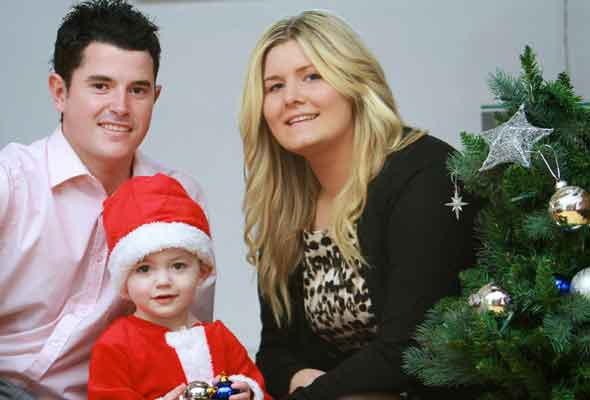 Rory Davis, the little boy who became ill with meningitis in Santa's Grotto