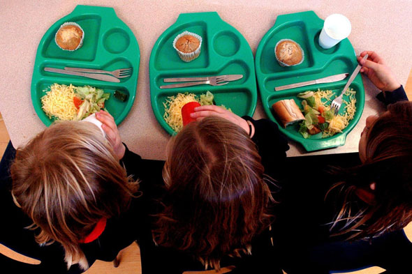 Headteacher bans kids from talking at lunchtime