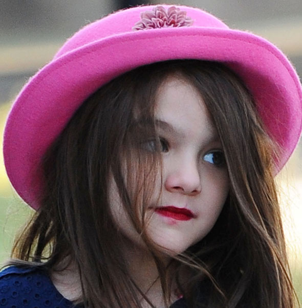 Official: Suri Cruise in most likeable celebrity tot - beats Harper Beckham to top spot