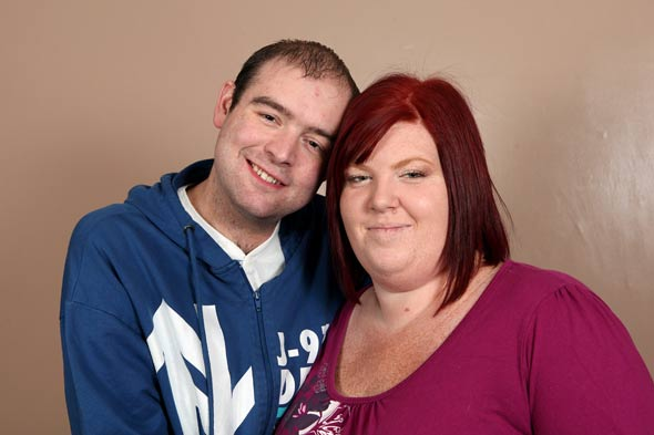 Woman in race to lose four stone in five months to get pregnant before husband dies