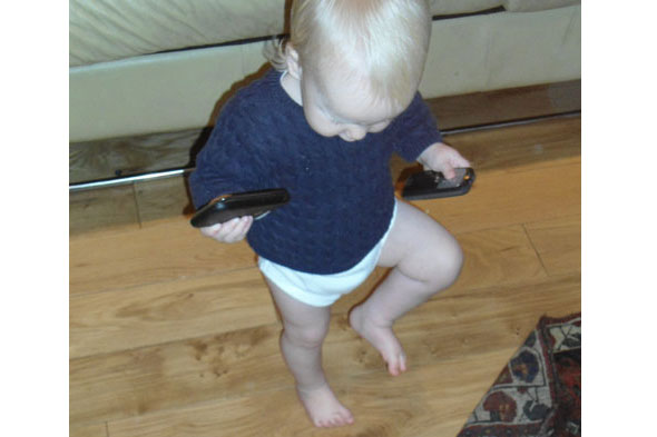 Toddler Tales: The 'daddy phase'