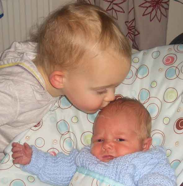Happy birthday to the twins who were born two years apart on the same day