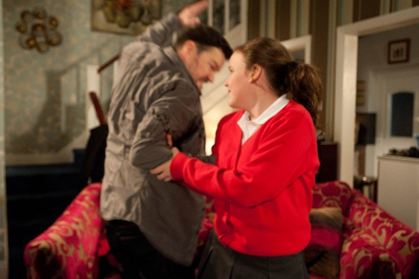 Coronation Street scene sparks outrage as 10 year-old girl is smacked