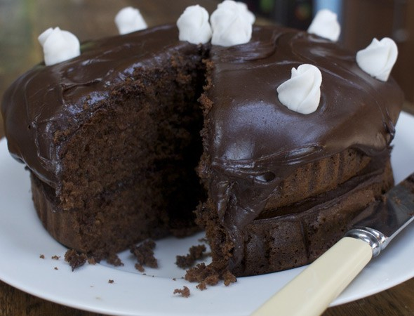 Mary Berry Hot Chocolate Fudge Cake