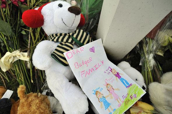 Tributes to the Badger family