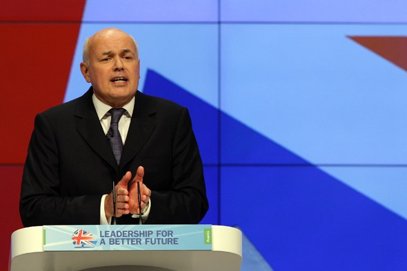 Iain Duncan Smith vows to cap benefits system