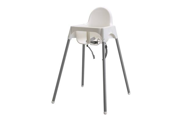 IKEA recalls faulty highchair after three children fall out of safety belt