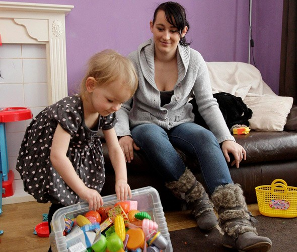 Noisy neighbours: Family faces eviction over toddler's loud crying