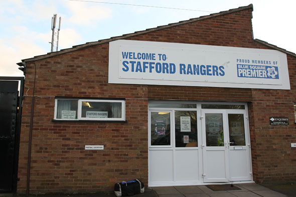 Stafford Rangers' star makes half-time dash to see daughter born