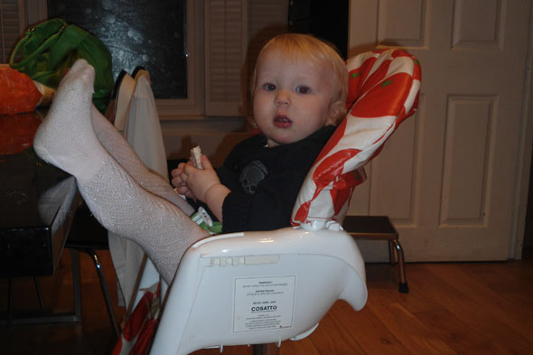 Toddler Tales: The panic button