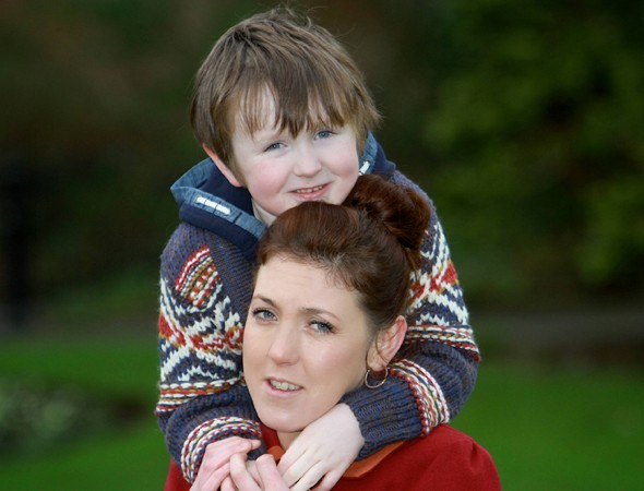Seamus, six, astounds doctors by beating meningitis a record six times