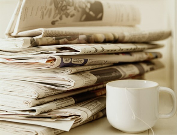 Is this the most bizarre pregnancy craving ever? Mum-to-be hooked on eating newspapers!