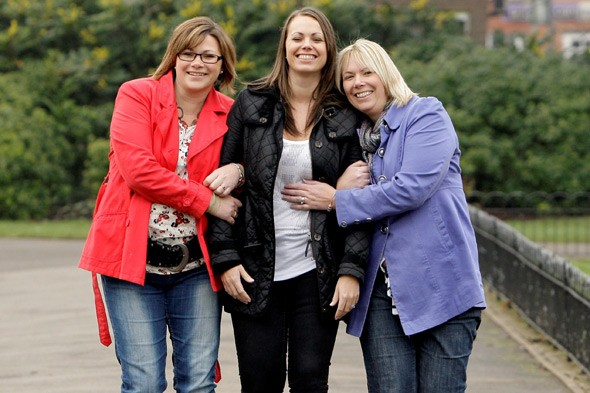 Three healthy sisters have double mastectomies - and two have hysterectomies - to save their lives
