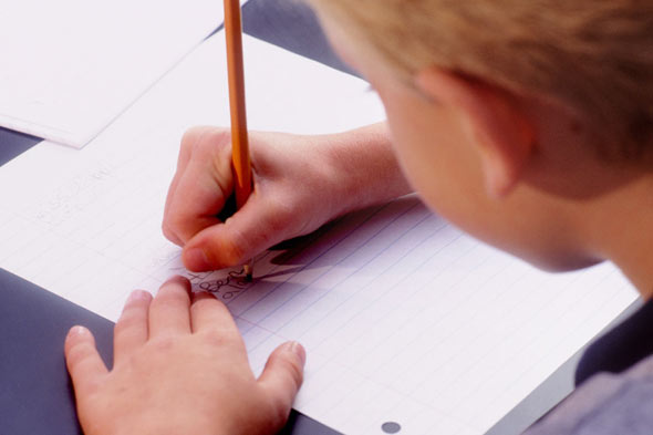 Child writing: The (very British) shame of having a clever child